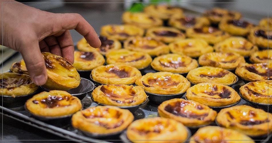 Délicieux dessert portugais : Pastel de nata