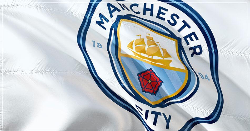 Drapeau du club de foot : Manchester City