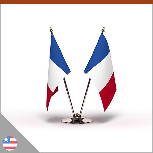Drapeau officiel de la France