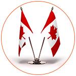 Drapeaux miniature du Canada