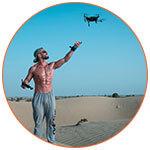 Pilotage d'un drone Mavic 2 Pro