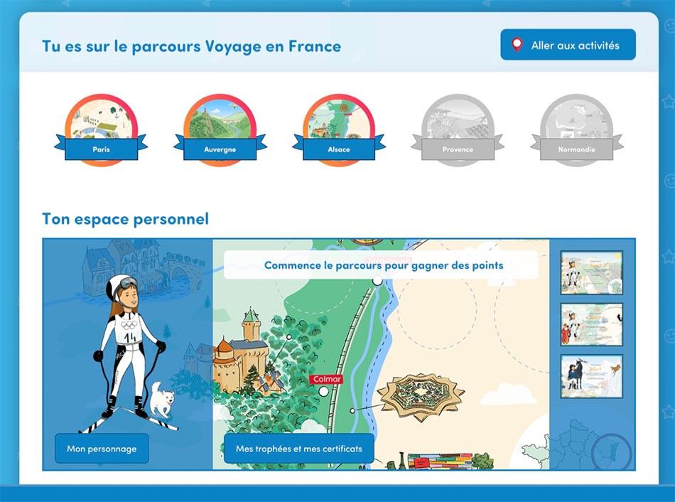 Ecran du site savio.fr