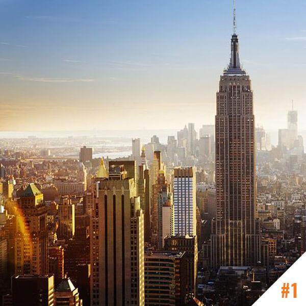 Empire State Building à New York (USA