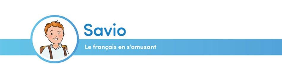 En-tête Savio - Français en s'amusant
