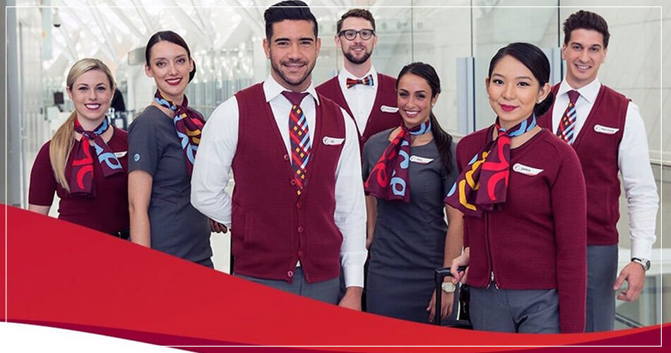 Equipage Air Canada Rouge