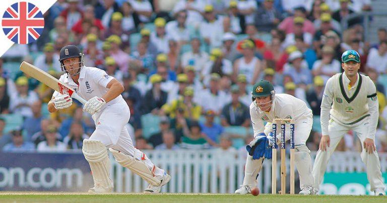 Match International Cricket Angleterre contre Australie
