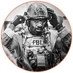 Agent FBI à l'entrainement
