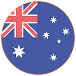 Flat icon drapeau australien