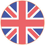 Flat icon drapeau du Royaume-Uni