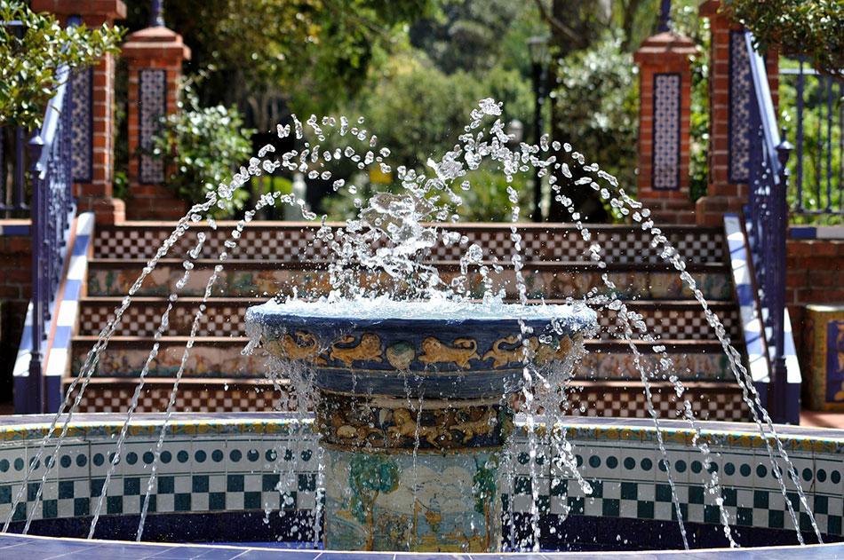 Fontaine à Buenos Aires