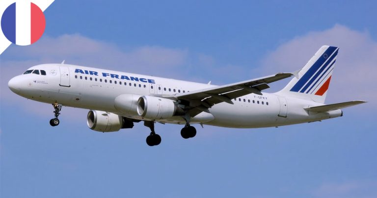 Avion de la compagnie aérienne AIR FRANCE - French Radar