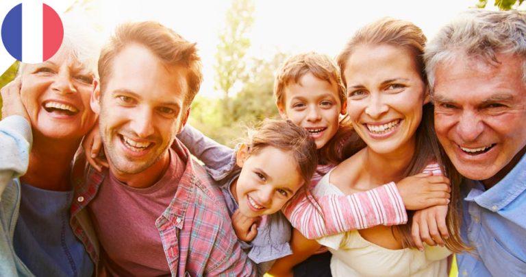 Famille multi-générationnelle - French radar
