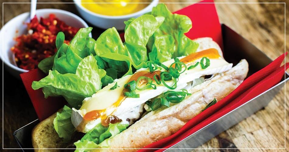Le Hot-dog FRENCHMAN de Wassup à Perth