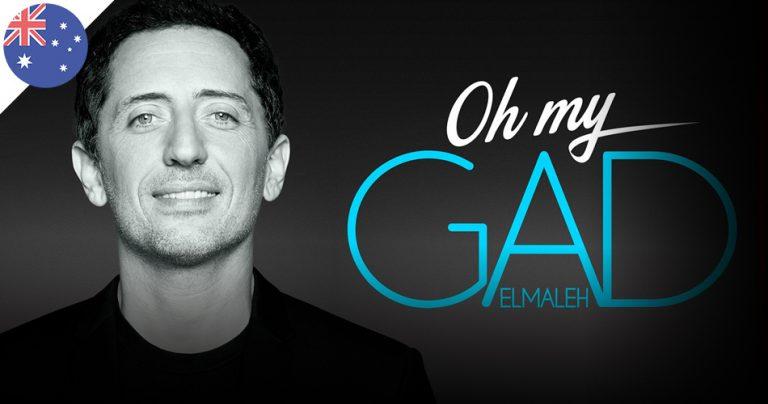 Affiche du spectacle de Gad Elmaleh : Oh My Gad