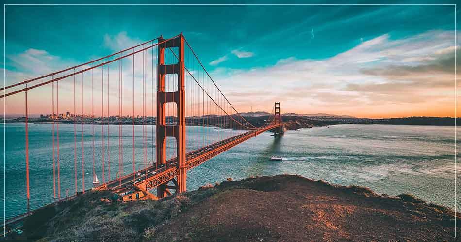 The Golden Gate Bridge à San Francisco (USA) - French Radar