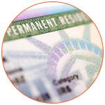 Green card - Carte verte immigration USA