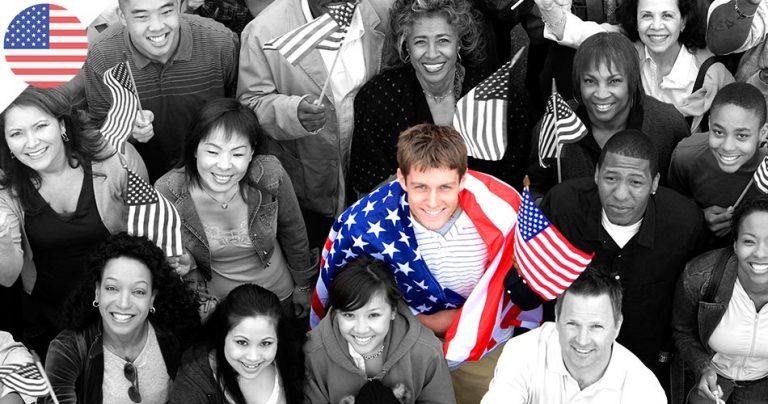 Groupe immigrants loterie carte verte