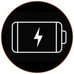 Icône d'une batterie