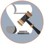 Illustration d'un acte légal d'achat devant la justice