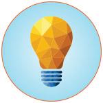 Illustration d'une ampoule symbolisant une idée