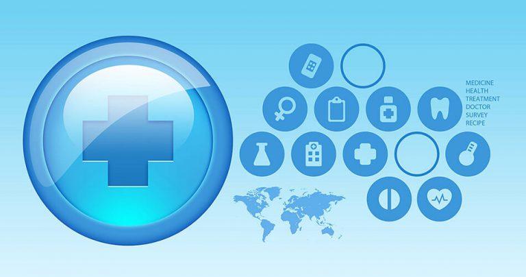 Illustration assurance santé mondiale