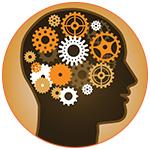 Illustration d'un cerveau humain