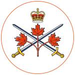 Illustration du drapeau de l'armée canadienne
