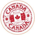 Illustration du drapeau canadien