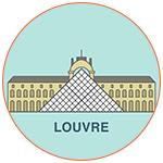 Illustration du Musée du Louvre