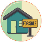 Illustration d'une maison mise en vente