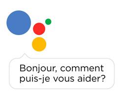 Illustration pour présenter l'assistant google