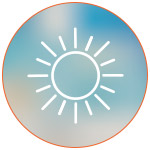 Illustration d'un soleil