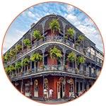 Immeuble à la Nouvelle Orleans (USA)