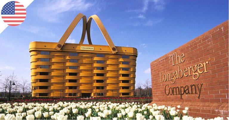 Immeuble Panier - Basket Building - société Longaberger