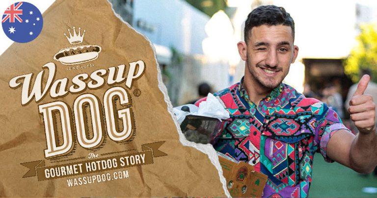 Jules, expatrié français à Perth, propriétaire de Wassup Dog