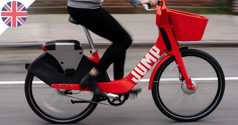 Vélo électrique JUMP d'Uber