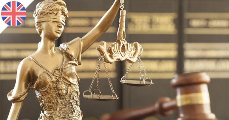 Illustration Justice / Juridique au Royaume-Uni (UK)