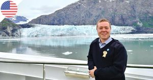 Interview Expat : Kévin, responsable RH français sur navire de croisière