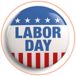 Labor day in the USA - Fête du travail
