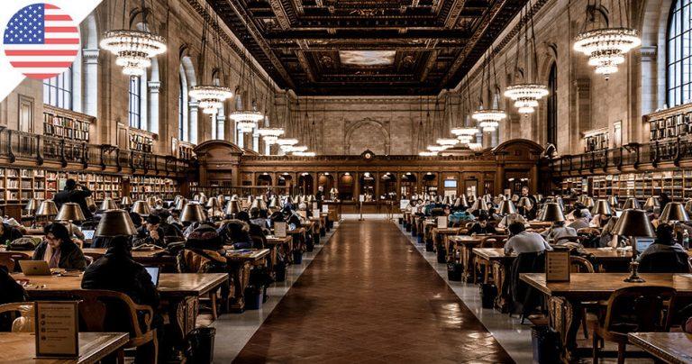 Librairie d'une université américaine