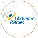 Le logo de l'Assurance Retraite - Sécurité Sociale