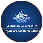 Logo Australian Department of Home Affairs