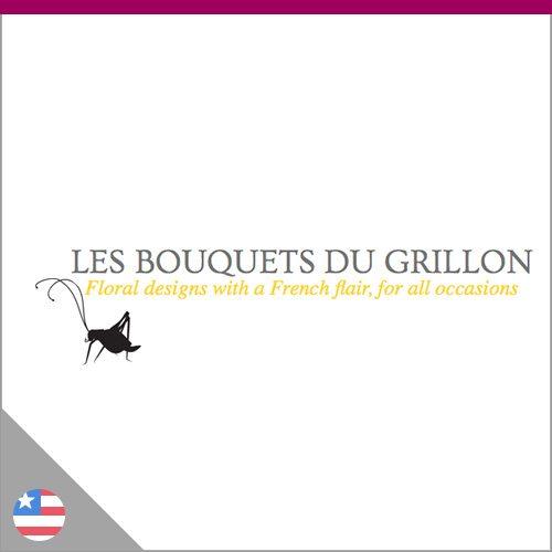 Logo Les bouquets du Grillon