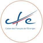 Logo de la Caisse des Français de l'Etranger (CFE)