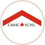 Le logo de La Société Canadienne d'Hypothèques et de Logement (SCHL)