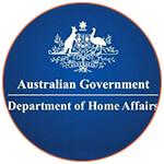 Le logo de : Department of Home Affairs