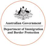 Le logo du Department of Immigration and Border Protection en Australie
