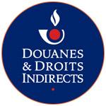 Le logo officiel des Douanes et Droits Indirects - France