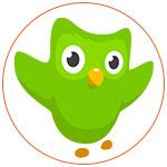Le logo de Duolingo