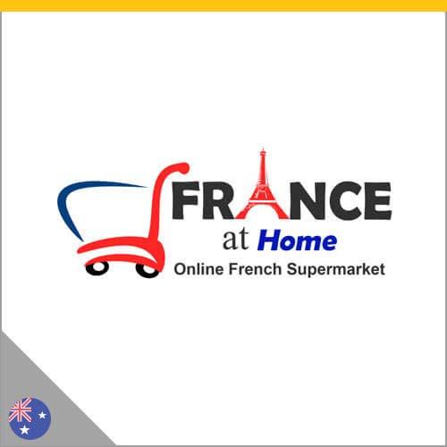 Logo France at Home